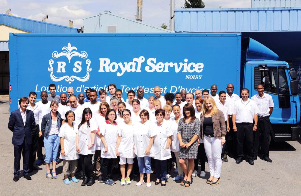 royal service équipe